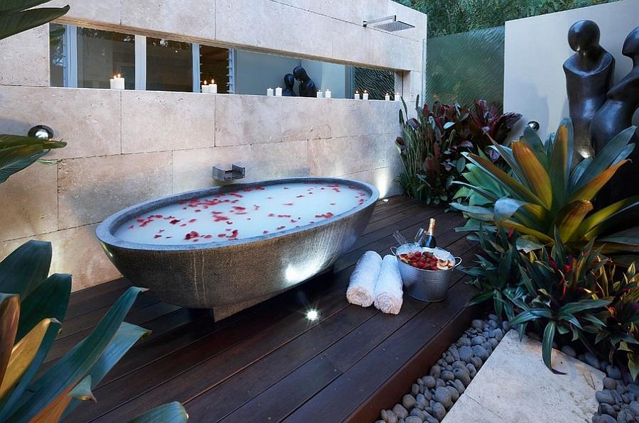 outdoor bathtub long island